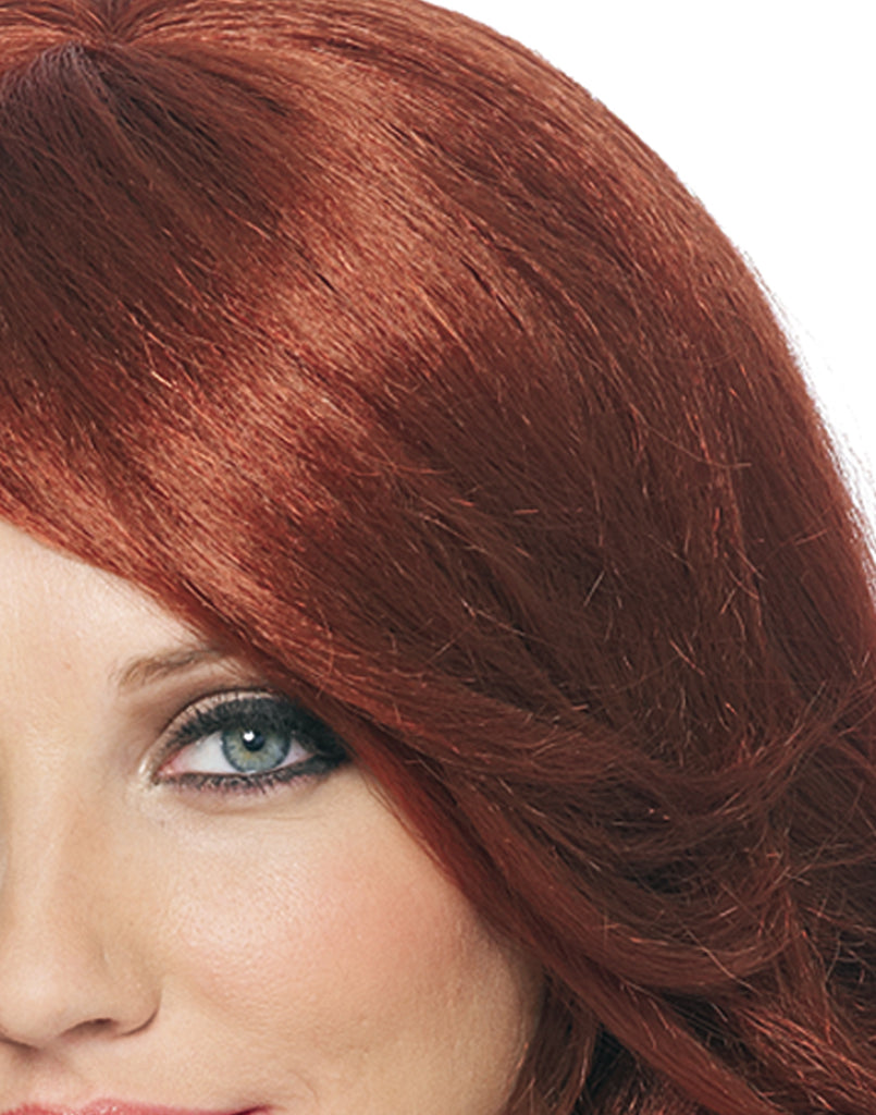 Long Curly Natural Red Movie Star Wig