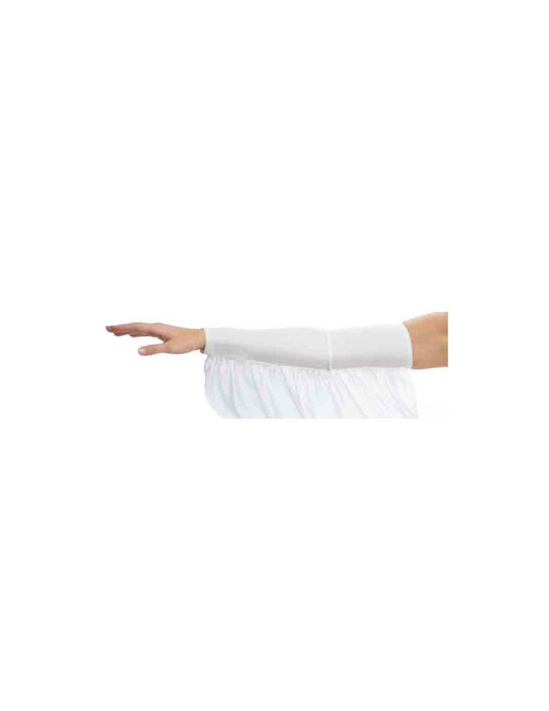 White Fantasy Adult Flowy Arm Sleeves