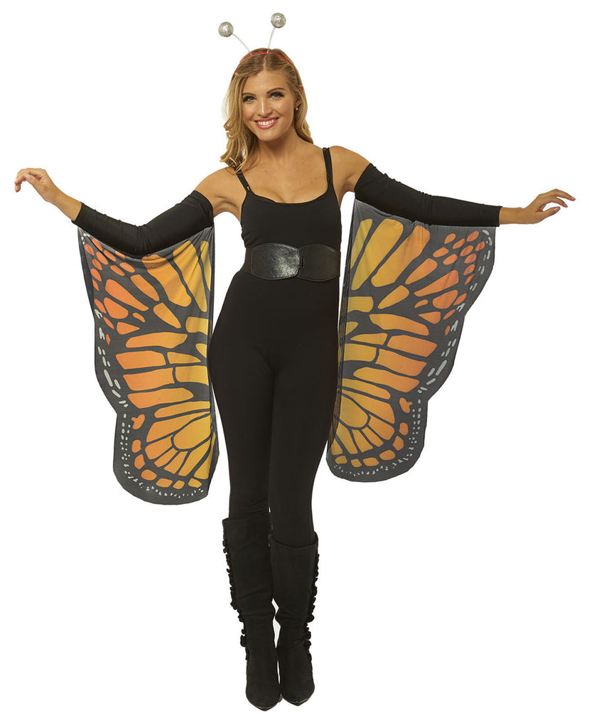 Butterfly Womens Adult Costume Arm Sleeves