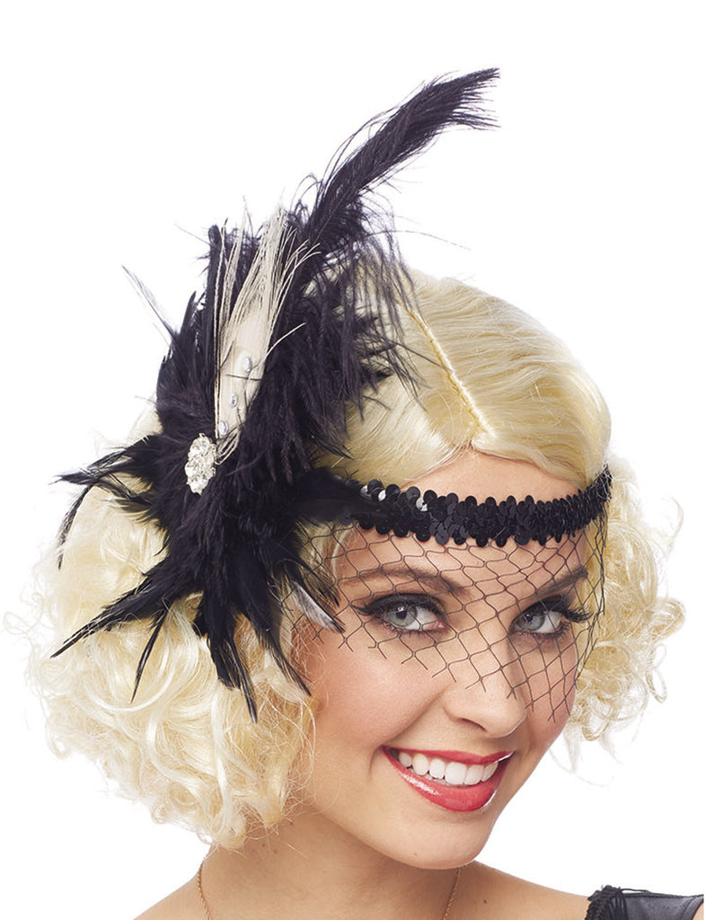 Adult Flapper Headpiece
