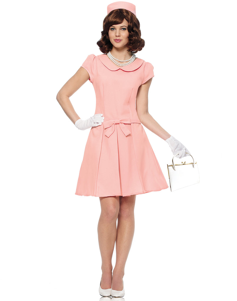 First Lady Womens 1960's Halloween Costume-S