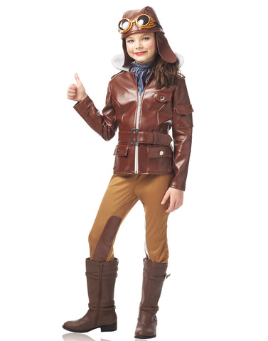 Brown Child Victorian Frock Coat