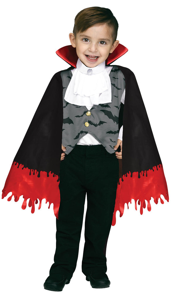 Count Crypt Boys Toddler Vampire Costume