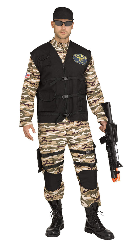 Sf Commando Mens Adult Army Costume