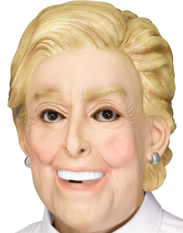 Deleter Of The Free World Adult Funny Women Politician Mask