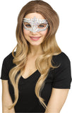 Rainbow Crystal Adult Masquerade Mask
