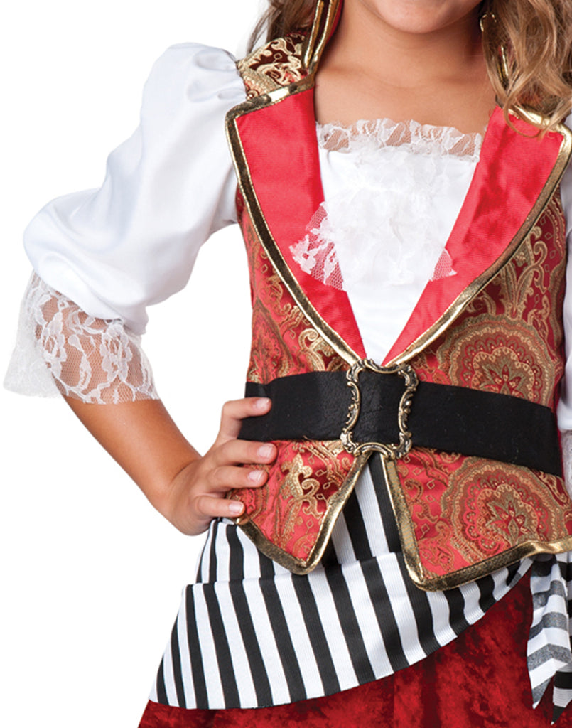 Pretty Pirate Captain Buccaneer Costume