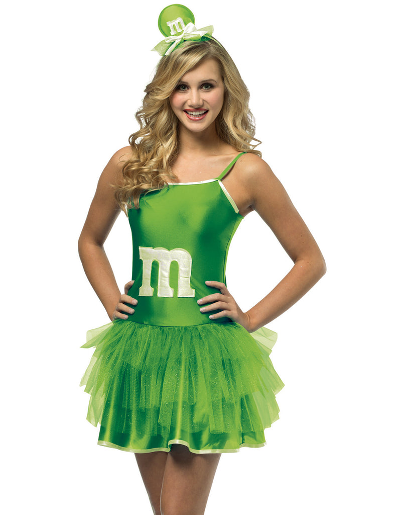 M&M Sassy Green Mini TuTu Costume