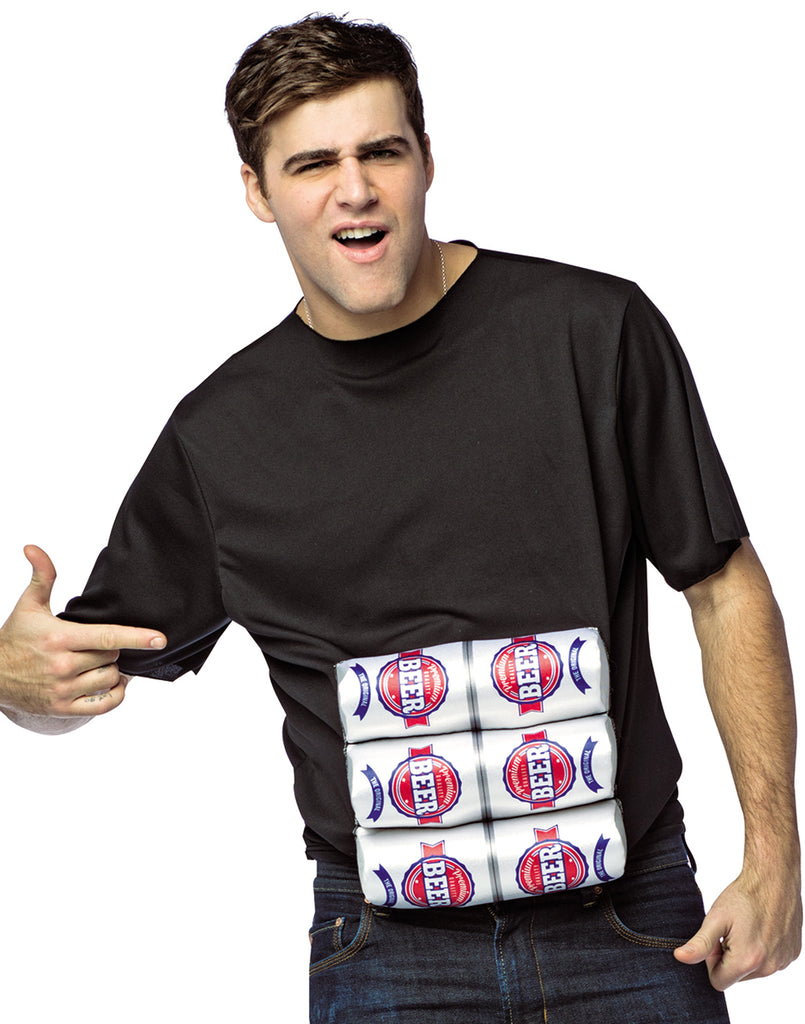 Six Pack Of Beer Shirt Costume