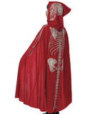 Child Red Devil Skeleton Cape