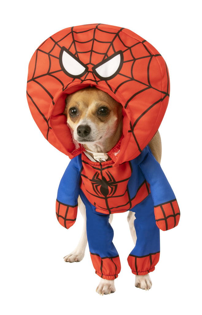 Pet Walking Big Head Spider Man Costume
