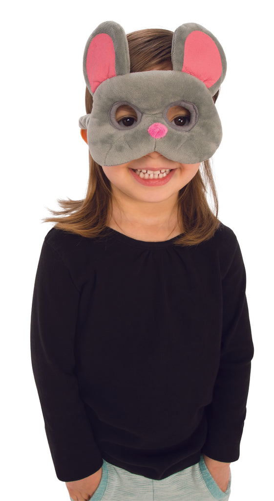 Childs Mouse Plush Costume Mask