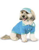 Light Blue Tennis Polo Pet Shirt