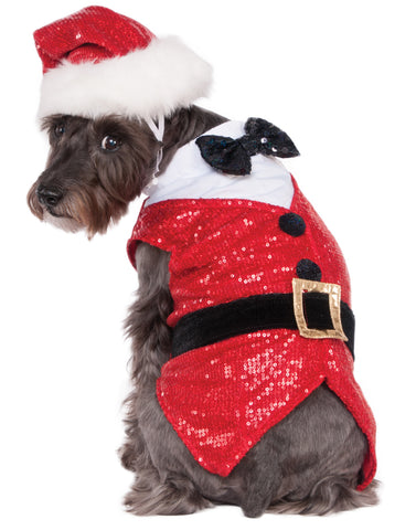 Red Santa Claus Pet Hat