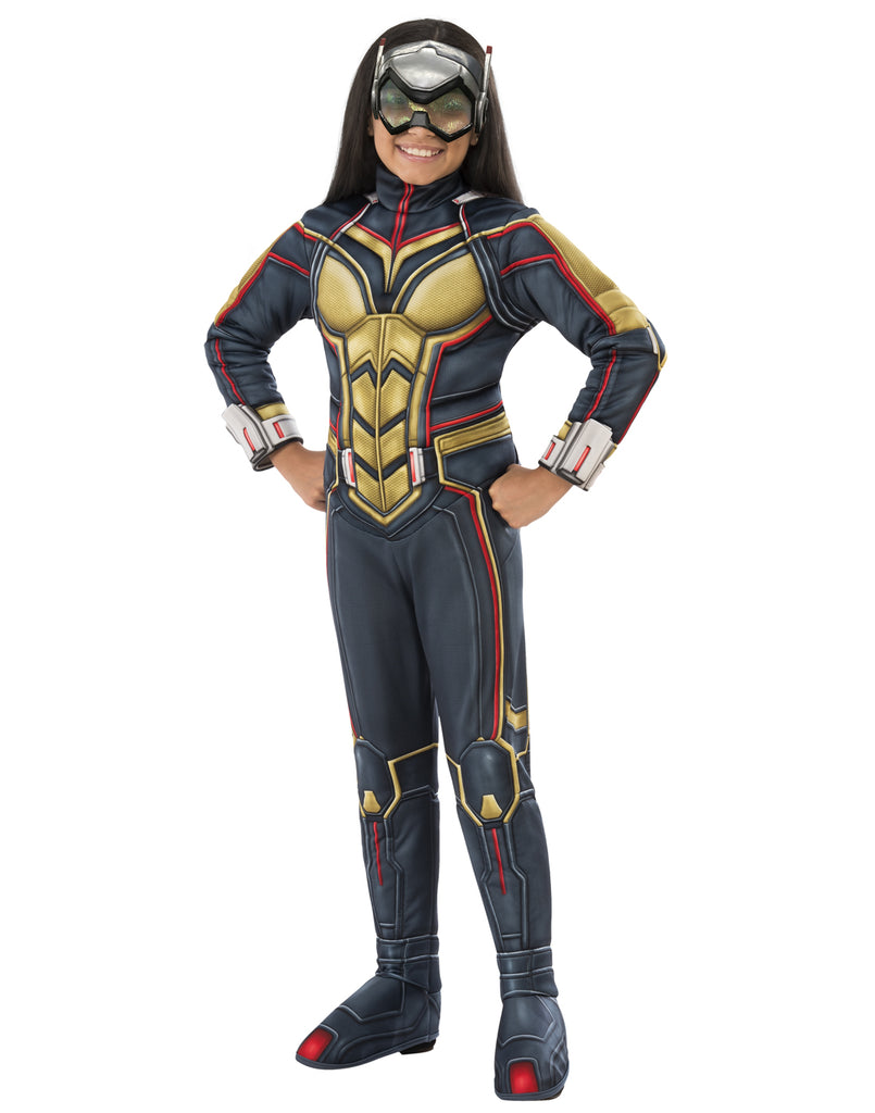 Antman And The Wasp Girls Child Deluxe Wasp Costume