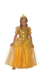 Golden Princess Girls Costume