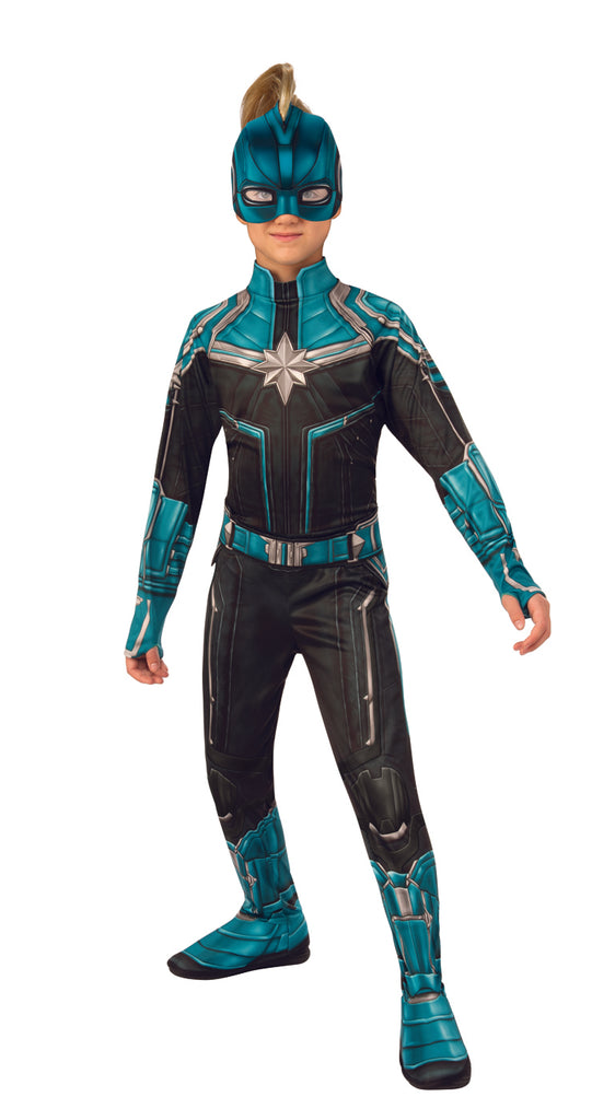 Kree Suit Captain Marvel Child Costume