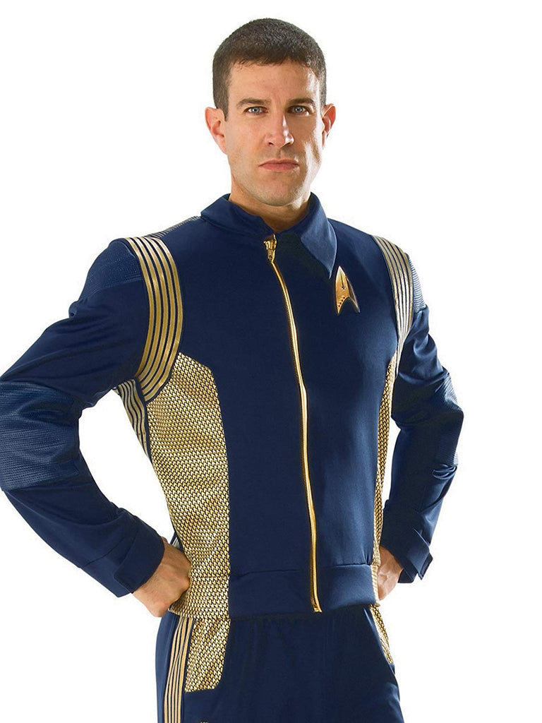 Command Uniform Deluxe Mens Adult Star Trek Costume