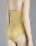 Nude High Waisted Removable Pad Panty