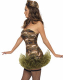 Army Babe Women's TuTu Costume Set