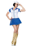 Ship Wrecker Sailor Women's Costume S-L