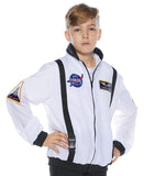Astronaut White Child Costume Jacket