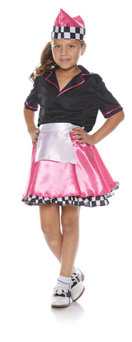 50S Girls Costume Skirt Set