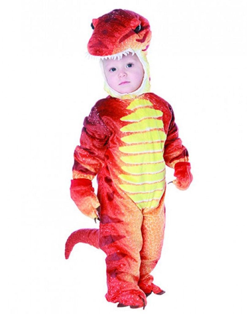 Red Baby Dinosaur Costume