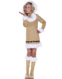 Eskimo Kisses Girls Winter Indian Halloween Costume