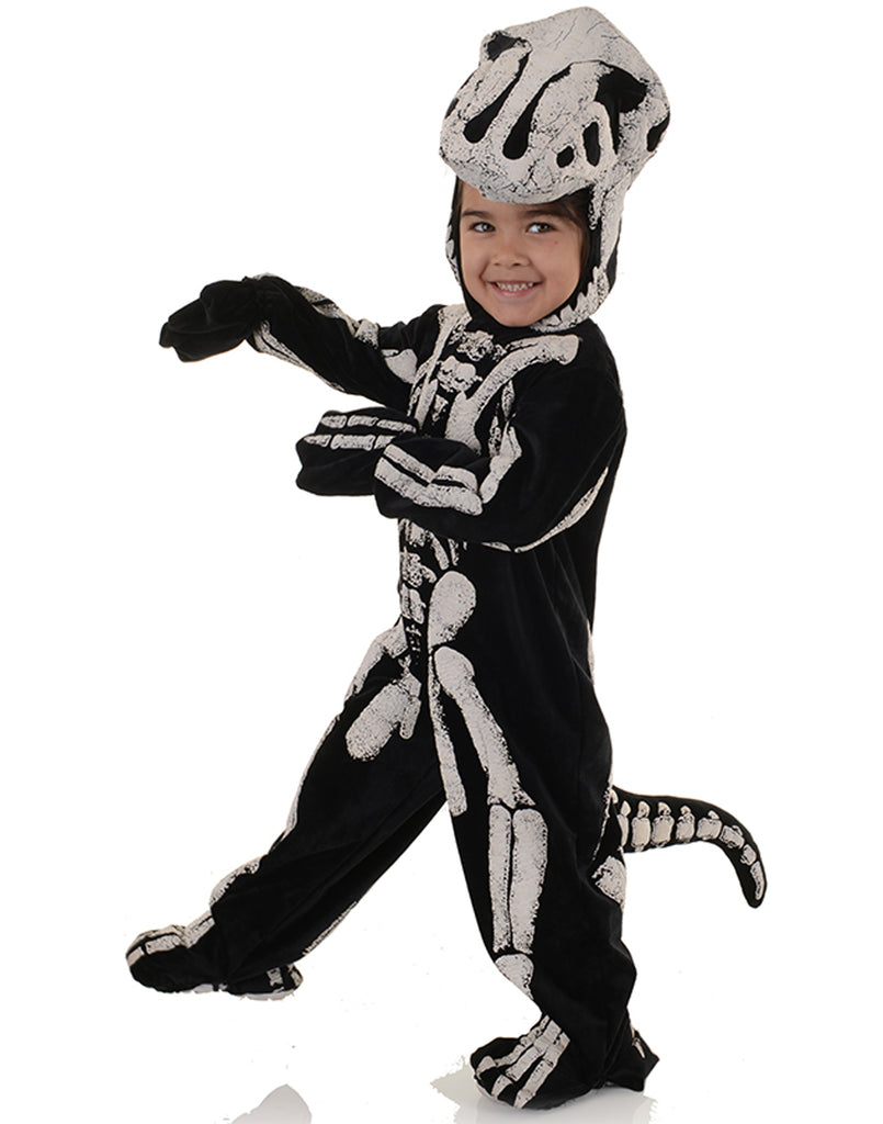 T-Rex Fossil Toddler Childs Halloween Costume-S