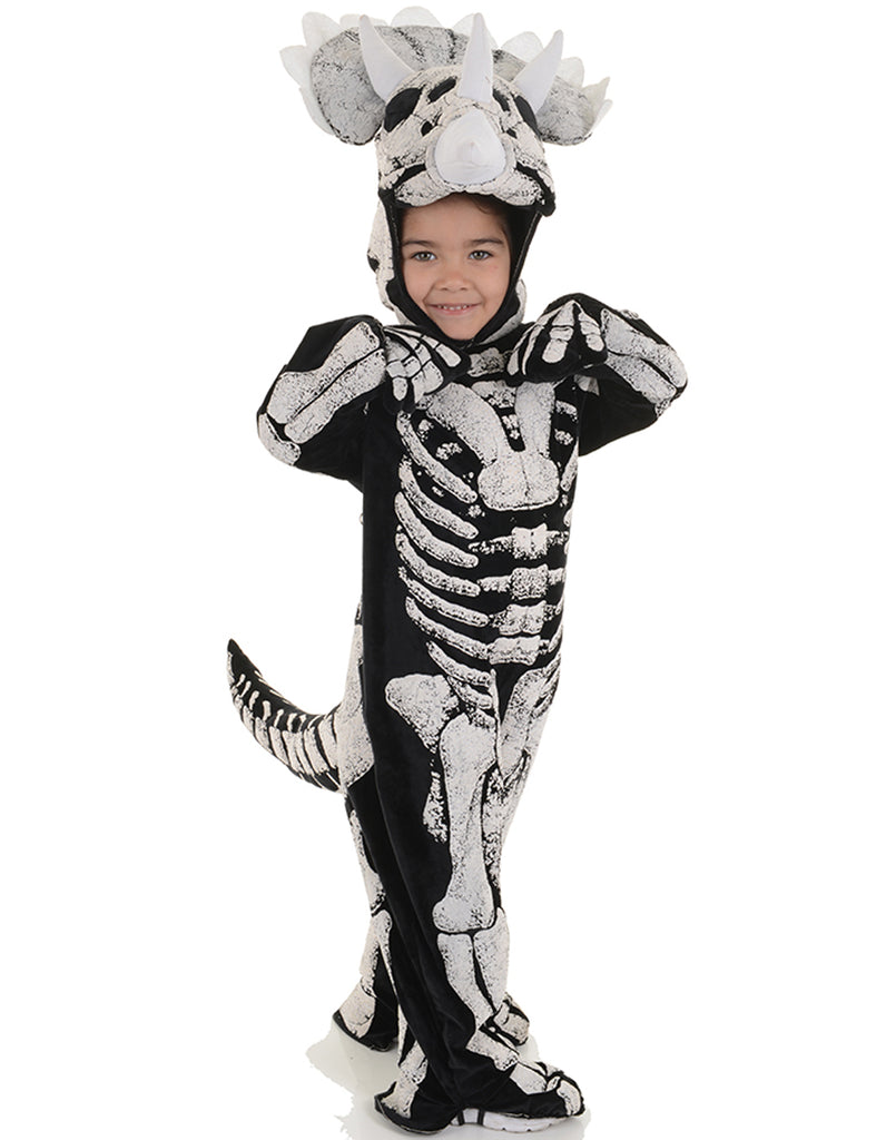 Triceratops Fossil Toddler Childs Halloween Costume