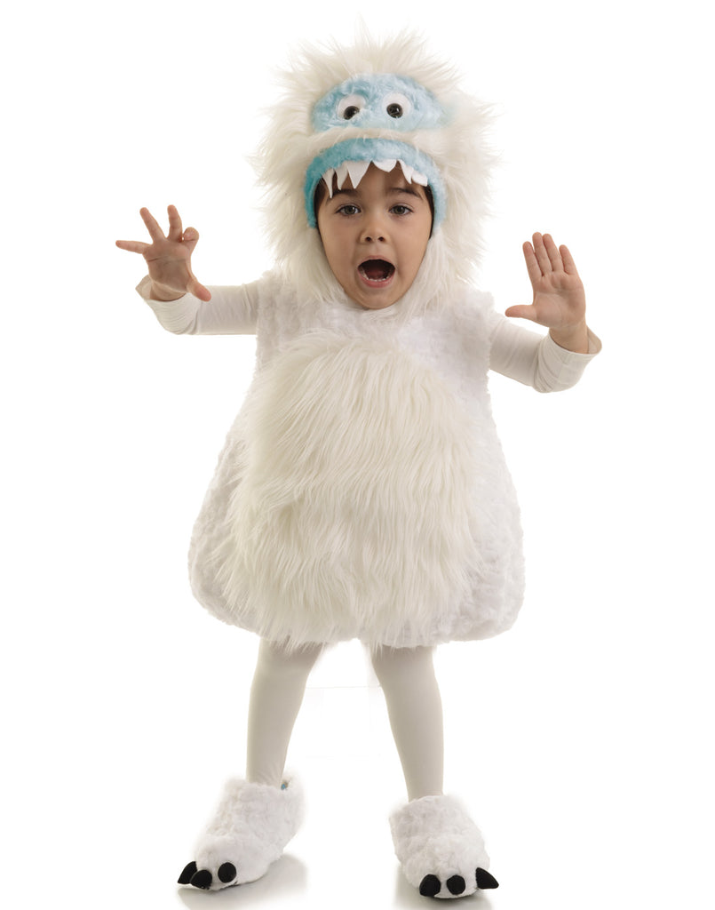 Snow Monster Childs Costume