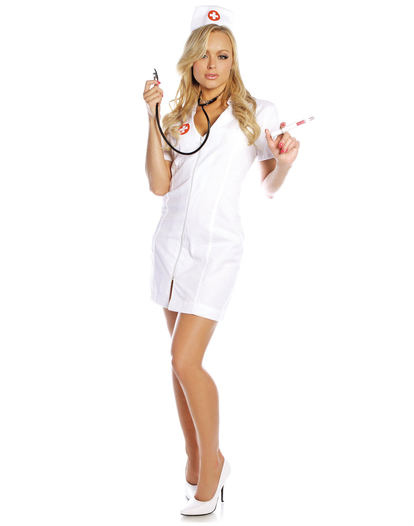 Hot Flash Nurse Womens Costume