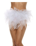 Ragged Womens Adult White Tutu