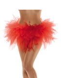 Ragged Womens Adult Red Tutu