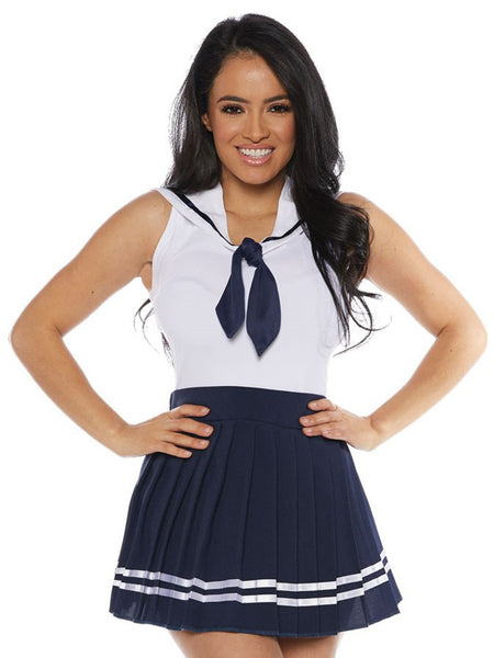 1c38ff38212 Navy Womens Adult Sailor Costume Skirt Set – Costume Zoo