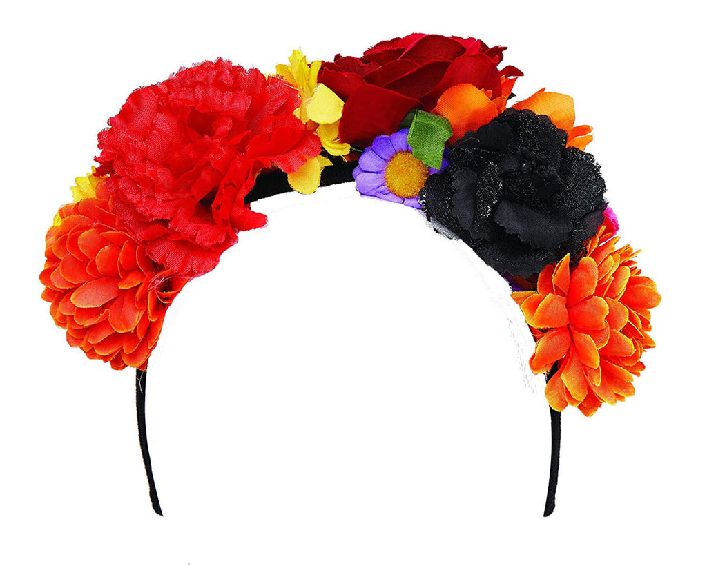 Flower Headband Womens Adult Accessory