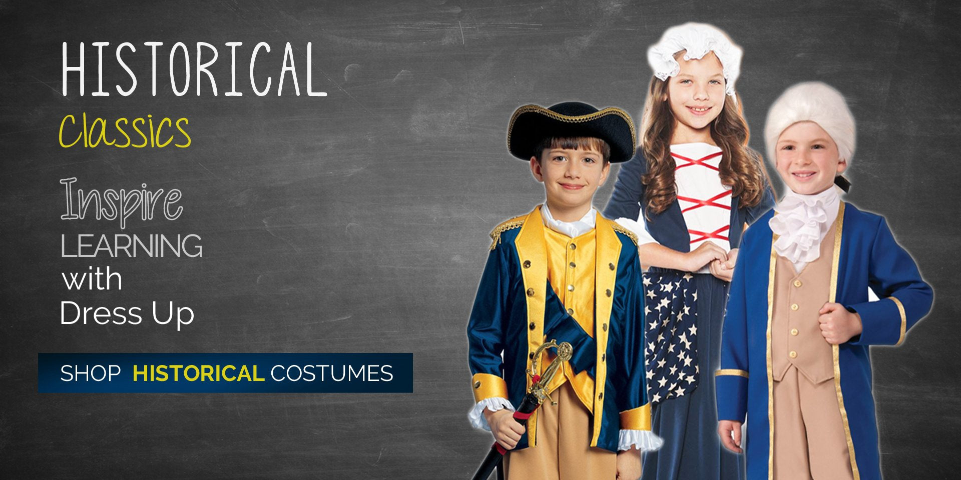 Shop Historical Classic Costumes at Costume Zoo