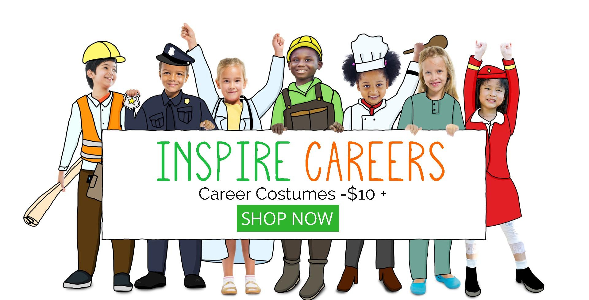 Dress Up Career Job Costumes at Costume Zoo