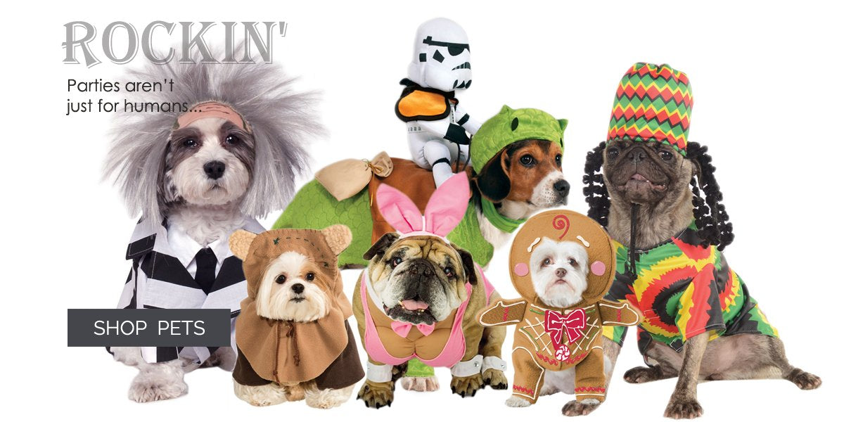 Pet Costumes and Pet Accessories
