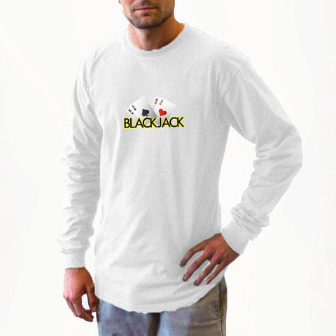blackjack long sleeve shirts, long sleeve shirt, shirt, sweater, fall, winter apparel, fall apparel, sweatshirts, sweatshirt, gambler, poker, casino, slots, dice, lucky gambler, lucky gambler shop, lucky gambler clothing, gambling hats, lucky gambler apparel, horse racing, horse racing hats, horse racing, horse racing shirts, horse racing clothing, poker clothing, poker shirts, poker hats, poker games, poker casinos, t shirts, sweat shirts, las vegas, gambling apparel