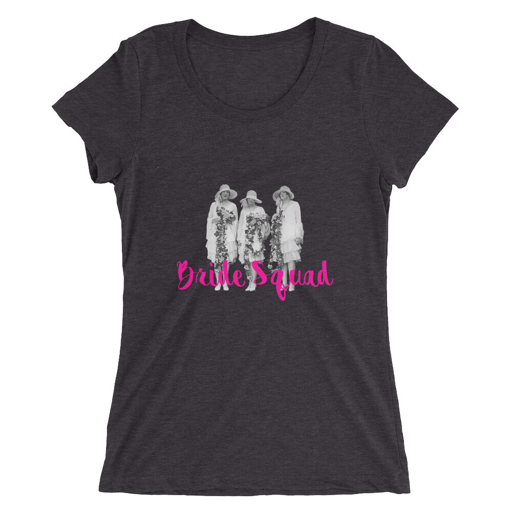 Bride Squad short sleeve t-shirt