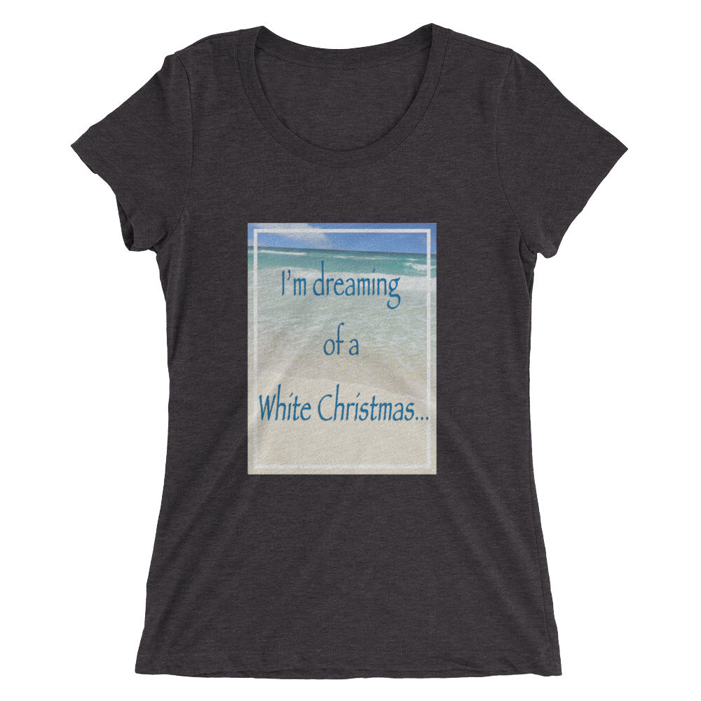 White Christmas short sleeve t-shirt