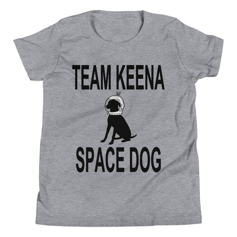 Keena Space Dog Youth Short Sleeve T-Shirt