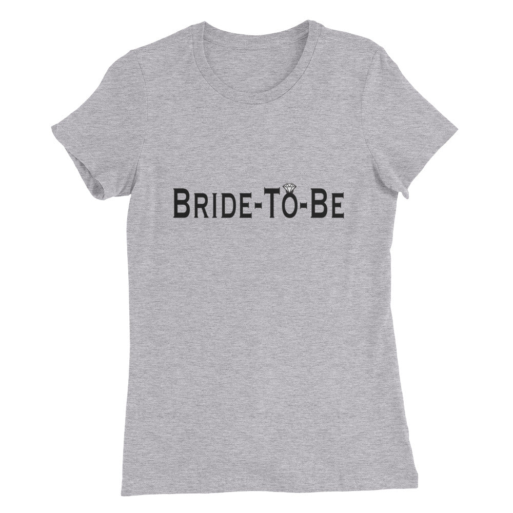 Bride-To-Be Slim Fit T-Shirt