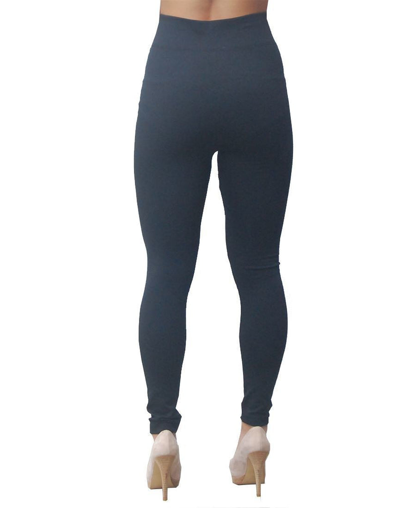 Solid Leggings Black Regular One