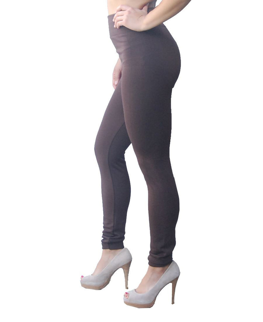 Solid Leggings Mocha Regular