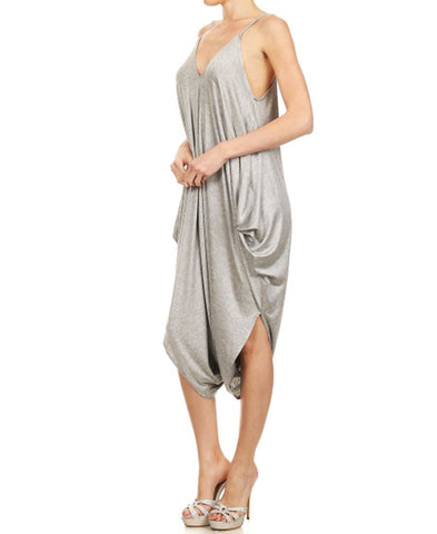 Jumpsuit Romper Light Heather Gray