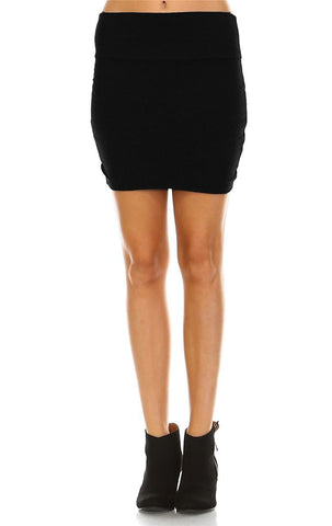 Bodycon Skirt Mini Black