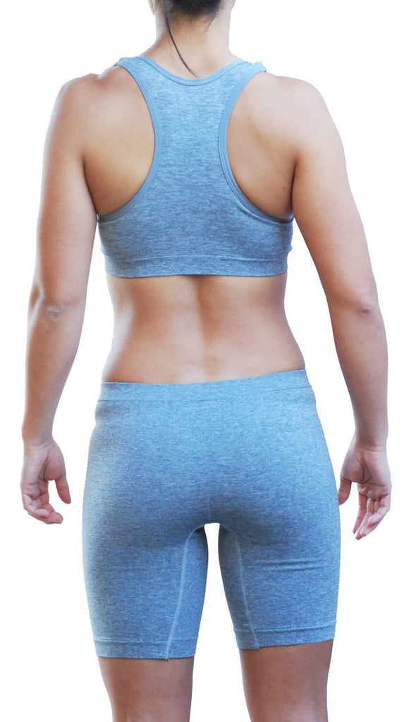 Seamless Push-up Racerback Sportsbra and Matching Bottom Shorts